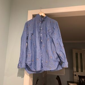Tops - Parrot Button up